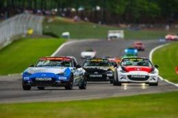 Driven: Mazda MX-5 Cup. A Whole Lot of Zoom-Zoom for the Racing Buck